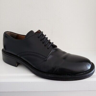872b1713 DOLCE & GABBANA Solid Lace-Up Leather Brogue Derby Shoes MARSALA ...