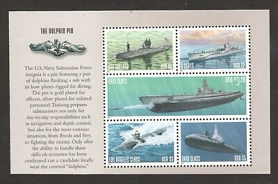 3373-3377 Submarines Set Of 5 Mint/nh Free Shipping (A-348)
