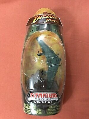 Hasbro Titanium Series INDIANA JONES - GERMAN FLYING WING diecast NEW