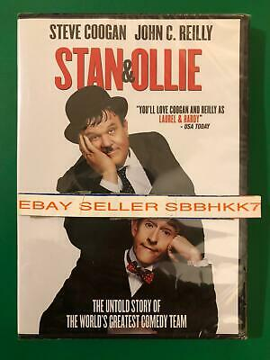 Stan & Ollie DVD {AUTHENTIC DVD READ DESCRIPTION} Brand New Free Shipping No Tax