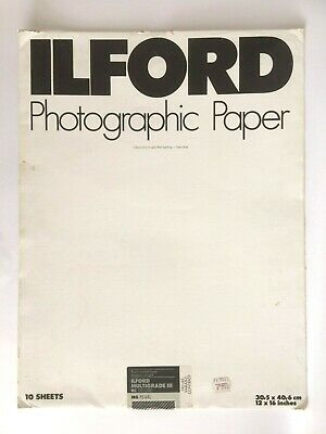 Vintage Ilford  Photographic Paper Multigrade Iii Rc Deluxe Mg-Pearl