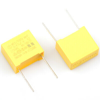 330000pF 330nF 275VAC Max. X2 Polyproplene safety capacitor 0.33uF