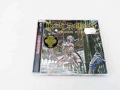 Iron Maiden Somewhere In Time Remastered CD With Videos Heavy Metal Album
