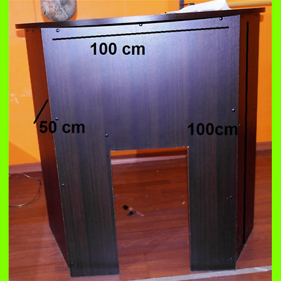 Console Dj Exhibitor in Wenge ' - 100x50x100