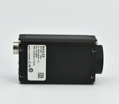 Used Basler scA1600-14gm black and white CCD industrial camera