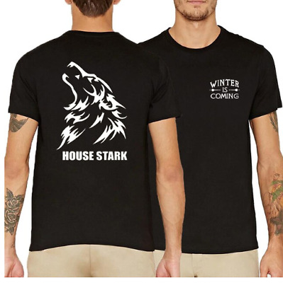 Game Of Thrones short sleeve Shirt House Stark Of Winter Is Coming GOT T shirt