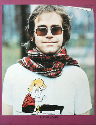 Elton John Poster Page . Candle In The Wind . Sc5C