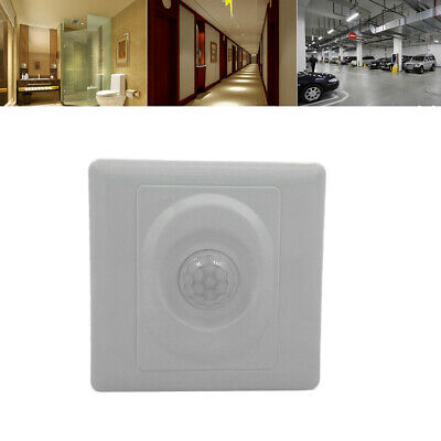 PIR Infrared Body Motion Sensor Switch Wall Stairs Mount Automatic Control Light