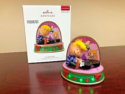2018 Hallmark Ornament Schroeder  A Charlie Brown Christmas