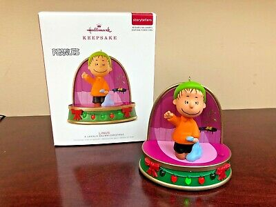2018 Hallmark Ornament Linus  A Charlie Brown Christmas