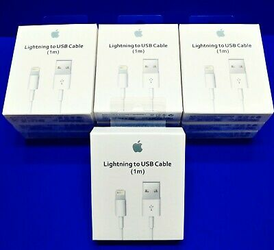 APPLE 1M LIGHTNING USB CABLE CHARGER CORD FOR IPHONE X 8 7 6s PLUS 5 SE