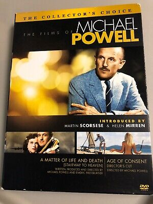 The Films Of Michael Powell - Age Of Consent / Stairway To Heaven (DVD, 2009,...