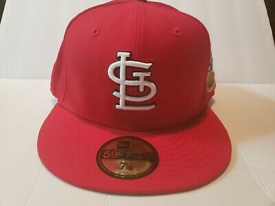 d0ed1ef33 New Era MLB St Louis Cardinal's 1967 World Series Patch Fitted Hat Cap ...