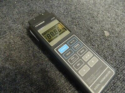 Omega Digital Thermometer HH82 Two Imputs used