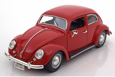 Bburago 12029R 1:18 VW VOLKSWAGEN KAFER BEETLE 1955 RED