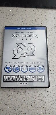 XPLODER LITE PS2 Cheat System for Playstation 2 for Sony PlayStation
