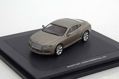 Minichamps BL834 1:43 BENTLEY CONTINENTAL GT 2014 PEARL SILVER