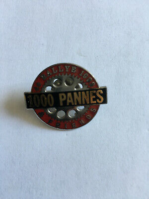 Ancien Badge Pin's 4 ème Rallye HARLEY DAVIDSON 1992 HOC 1000 Pannes & Friends