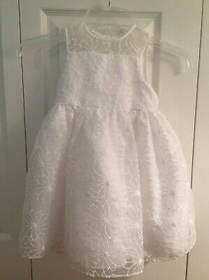01fe3c4b5952d NEW Mia & Mimi Girls 3T Sheer Lace White / Flower Girl / Special Occasion
