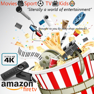 Amazon Fire Stick: 3rd Gen / 4K / UHD Movies 🎬 Sport ⚽ Live TV 📺 Kids 👶🏼