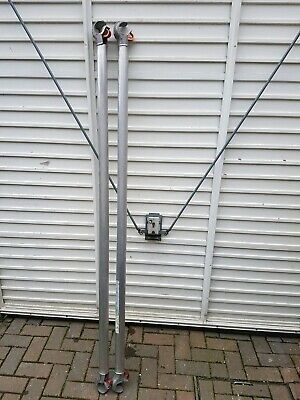 4 x 1.8m Horizontal Eiger 500 Pop Up Scaffold Tower Brace Poles Inc Vat