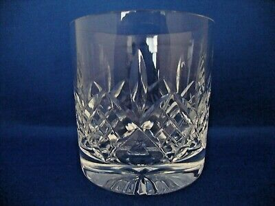 Stuart Crystal Glengarry Cut Pattern Tumbler Glass 3 1/4 inch tall -Signed