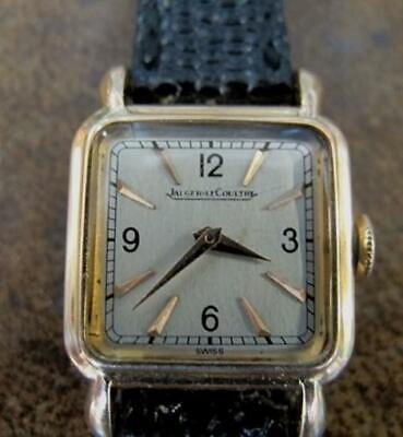 JAEGER LECOULTRE 14kt Solid Gold 1950's Women's Watch VGC A300852
