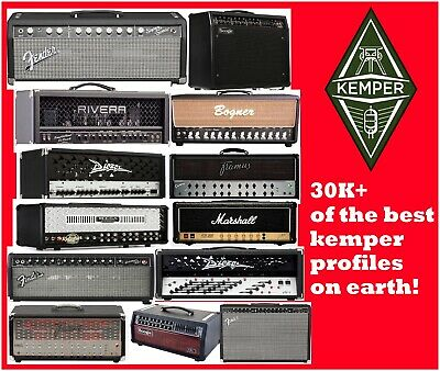 KEMPER PROFILER AMP Profiles & Presets Over 67000 Patches Artist