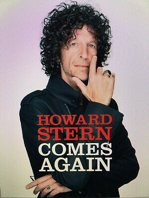 Howard Stern Comes Again by Howard Stern Hardcover New Released on May 14, 2019