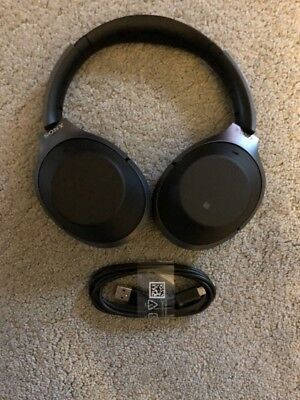 Sony WH-1000XM2 Wireless Noise Cancelling Headphones - Black