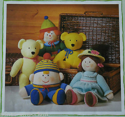 Jean Greenhowe's Knitted Toys **  TRADITIONAL FAVOURITES  ** KNITTING PATTERNS