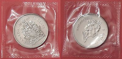 Proof Like 2000W Canada 50 Cents Sealed in Cello