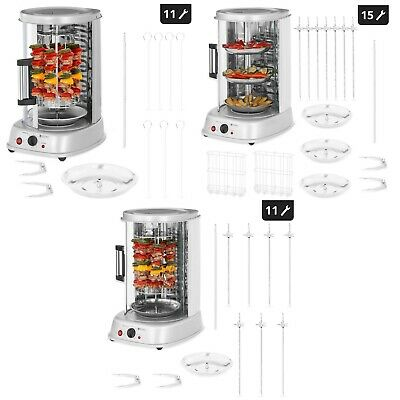 Electrical Vertical Barbeque Grill Tower Rotisseries Kebab Grills Professional