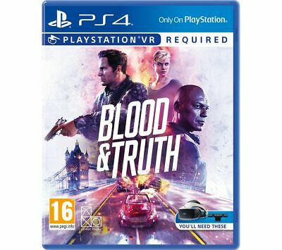 PS4 Blood & Truth VR - Currys