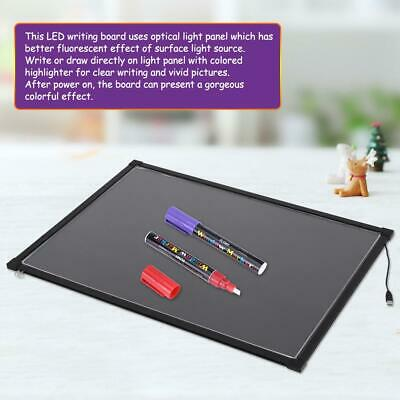 LED Writing Pad for Kids Painting Drawing Tablet Message Doodle Writer Board