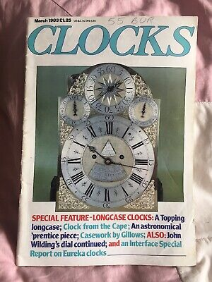 CLOCKS MAG March 1983 Long Case Clocks Clock From The Cape Casework By Gillows