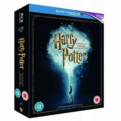 Harry Potter: The Complete 8-film Collection DVD (2016) - LIKE NEW Condition