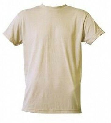3 X US Army Manches Courtes Militaire Tshirt Acu Ucp Desert Sable Tan Taille