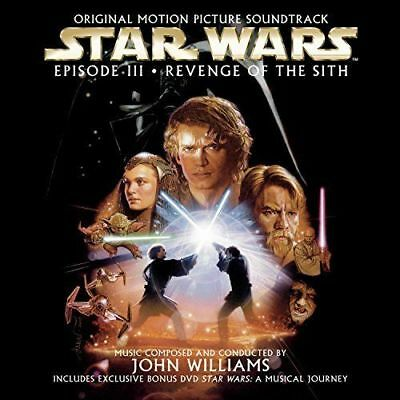 Star Wars Episode III: Revenge of the Sith (Soundtrack) [New & Sealed] CD