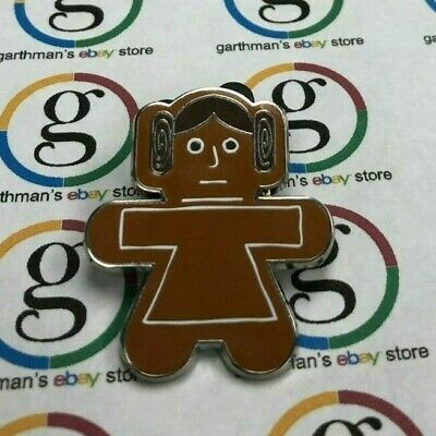 Disney Parks Trading Pin Star Wars Gingerbread Mystery Collection Princess Leia