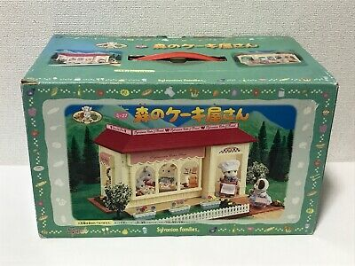Sylvanian Families FOREST STYLISH CAKE SHOP Epoch Japan Rare Calico Critters