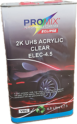 UHS Lacquer Clearcoat Promix 4.5ltr