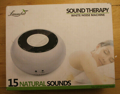 L'emouchet Sound Therapy White Noise Machine 15 Natural Sounds AS2- New & Sealed