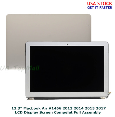 "NEW LCD Screen Display Assembly for MacBook Air 13"" A1466 2013 2014 2015 2017"