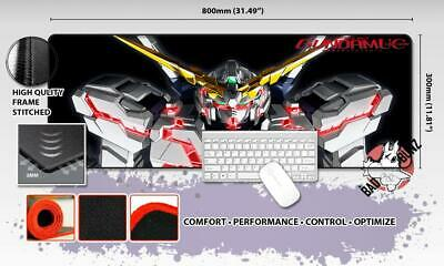 GUNDAM Razor Stitch Edged Large Size 80x30cm Mouse Pad Game Mat #24
