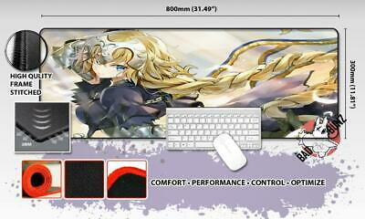FATE GRAND ORDER Razor Stitch Edged Large Size 80x30cm Mouse Pad Game Mat #16