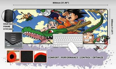 DRAGONBALL Z Razor Stitch Edged Large Size 80cm x 30cm Mouse Pad Game Mat #9