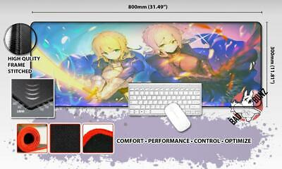 FATE GRAND ORDER Razor Stitch Edged Large Size 80x30cm Mouse Pad Game Mat #15