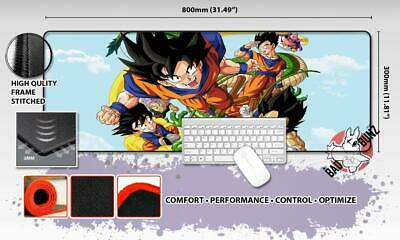 DRAGONBALL Z Razor Stitch Edged Large Size 80cm x 30cm Mouse Pad Game Mat #11