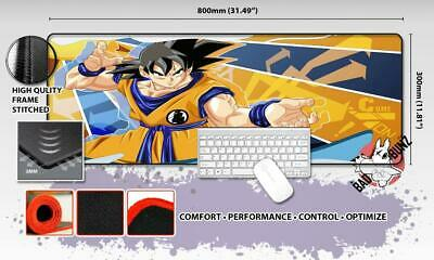 DRAGONBALL Z Razor Stitch Edged Large Size 80cm x 30cm Mouse Pad Game Mat #12